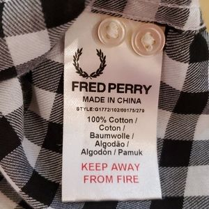 Fred Perry Tops - Fred Perry for Amy Winehouse Gingham Shirt